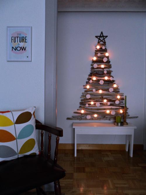 Χριστουγεννιάτικο δέντρο τοίχου!