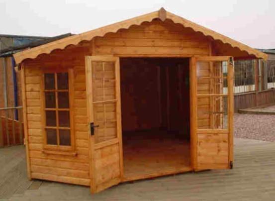 Μικρά ξύλινα σπιτάκια κήπου. Μπορώ να τα φτιάξω;