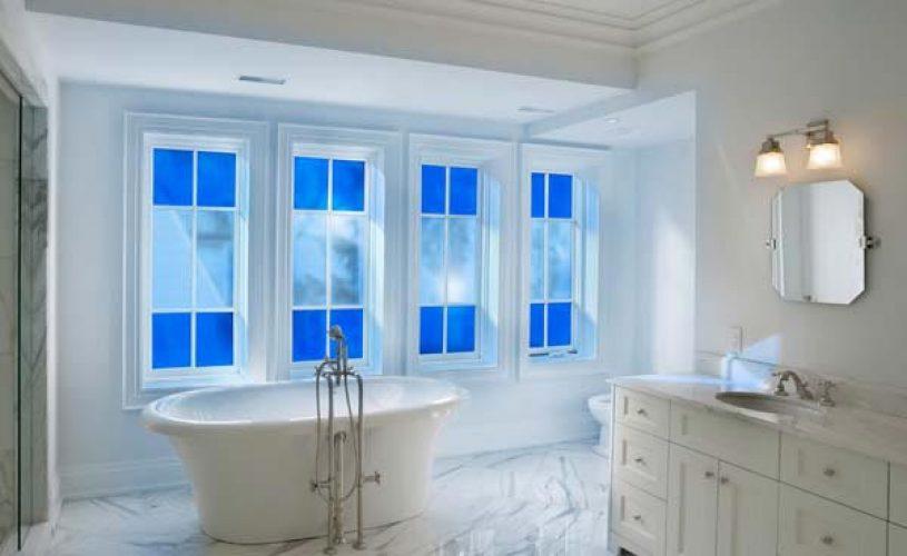 Plexiglass στο μπάνιο